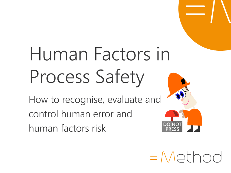 Human Factors in Process Safety