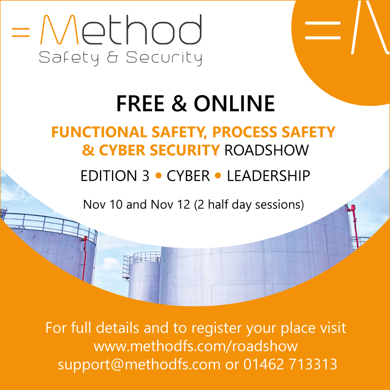 The latest information on changes in Functional Safety, Process Safety and Cyber Security